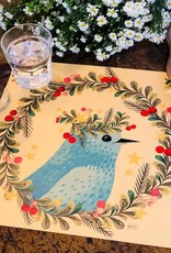Indigo De Papel Dove Placemats (12 Per Pack)