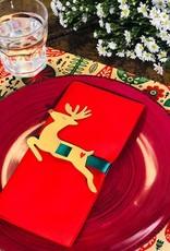 Indigo De Papel Reindeer Napkin & Tags (12 Per Pack)