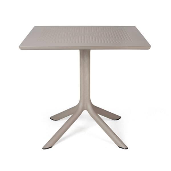 Nardi Clip 80 Table - Tortora