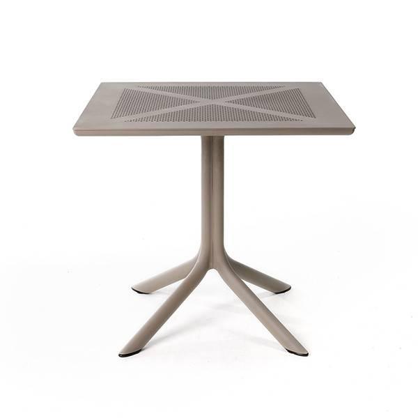 Nardi Clip X  NET 80 Table - Tortora