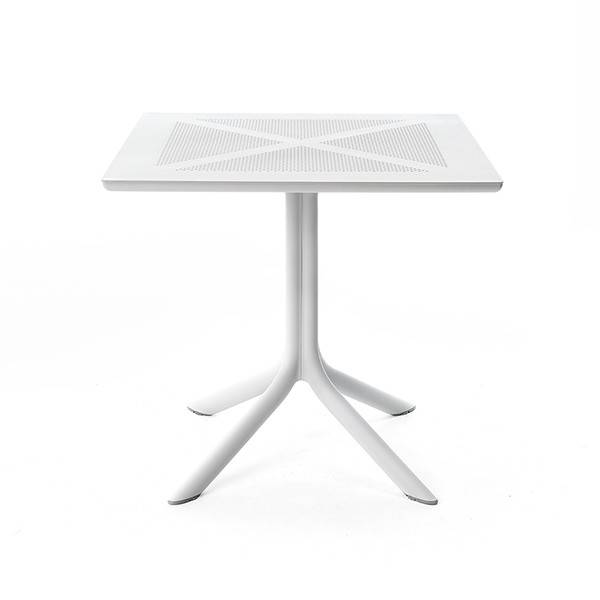 Nardi Clip X  NET 80 Table - Bianco