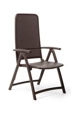Nardi Darsena Folding Chair - Caffe