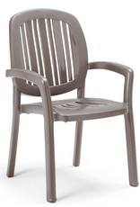 Nardi Ponza Stack Chair - Tortora