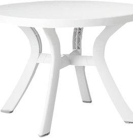 "Nardi Toscana 47"" Round Table - Bianco"