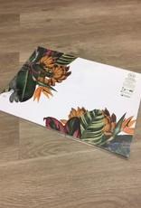 Indigo De Papel Tropical Paper Placemats (24 Per Pack)