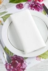 Indigo De Papel Peonies Paper Placemats (12 Per Pack)
