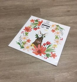 Indigo De Papel Eastern Collection Bunny Placemats (12 Per Pack)
