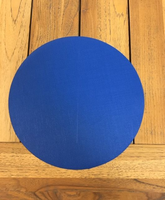 "Gotcha Covered 14"" Round Phifertex Placemat - Royal Blue"
