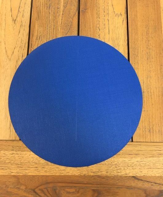 "Gotcha Covered 14"" Round Phifertex Placemat - Royal Blue"