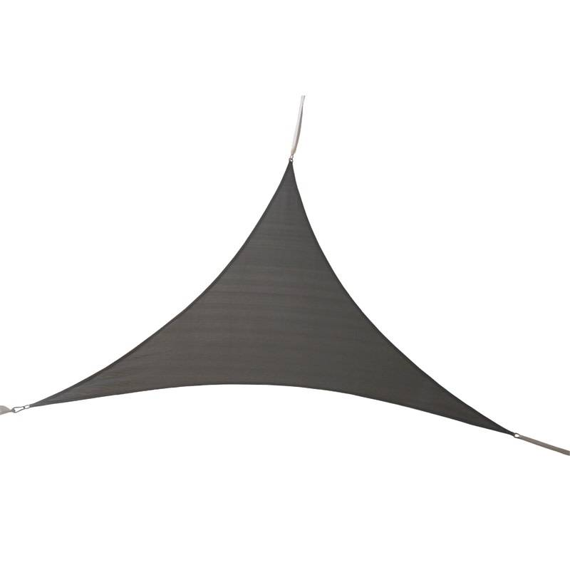 Gotcha Covered 9'x9'x9' Triangle Sail Shade Steel Grey