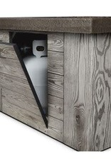 Real Flame Forest Ridge Firetable ( Weathered Gray)
