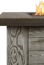 Real Flame Forest Ridge Firetable - Weathered Gray