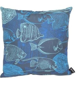 "Lava Pillows Night Fish 18"" Pillow"