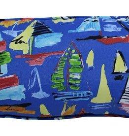 """Lava Pillows Sailboats Blue 12""""x24"""" Pillow"""