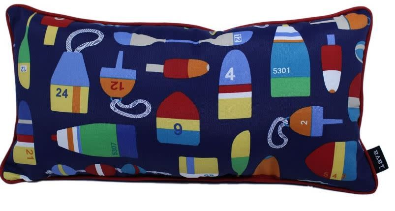 "Lava Pillows Buoys 12""x24"" Pillow"