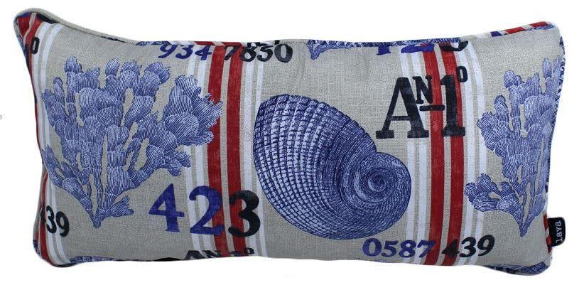 "Lava Pillows Sailing Reef 12""x24"" Pillow"