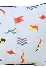 "Lava Pillows Sailing Flags OD 18"" Pillow"