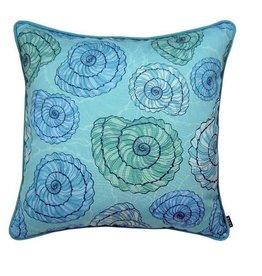 """Lava Pillows Shell Twirl 18"""" Pillow"""