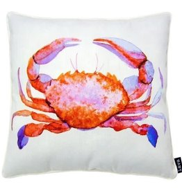 """Lava Pillows W Crab Red 18"""" Pillow"""