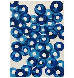 RUG BA77 2X3 75 Papyrus Blue Nights BARCELONA I-O ULTRAMARINE