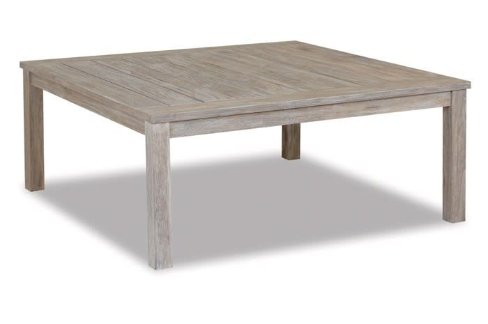 "Sunset West USA COASTAL TEAK 48"" SQUARE COFFEE TABLE"