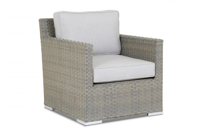 Sunset West USA MAJORCA SWIVEL ROCKER CLUB CHAIR (GRADE A FABRIC)