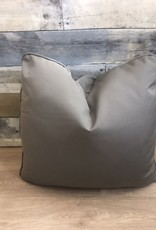 "Sunset West USA Canvas Charcoal 18"" Pillow"