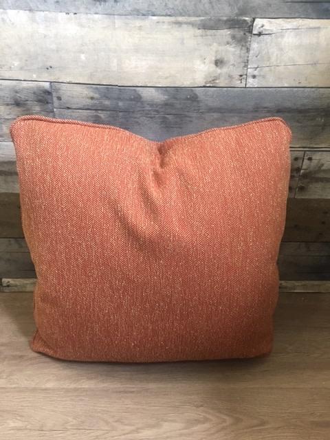 """Sunset West USA Brick & Beige Textured 18"""" Pillow"""