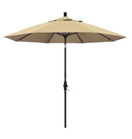 California Umbrella 9' Collar Tilt - Pacifica Antique Beige