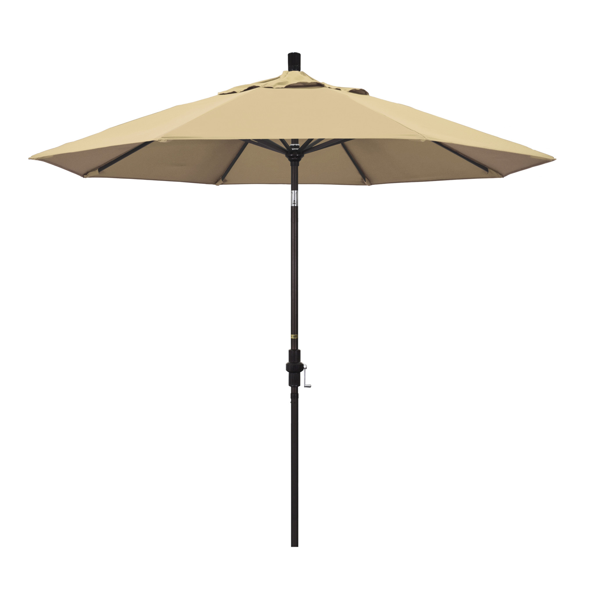 California Umbrella 9' Collar Tilt - Pacifica Antique Beige
