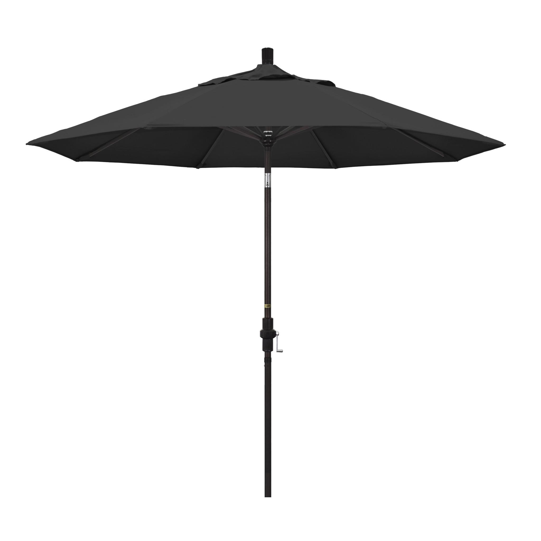 California Umbrella 9' Collar Tilt - Pacifica Black