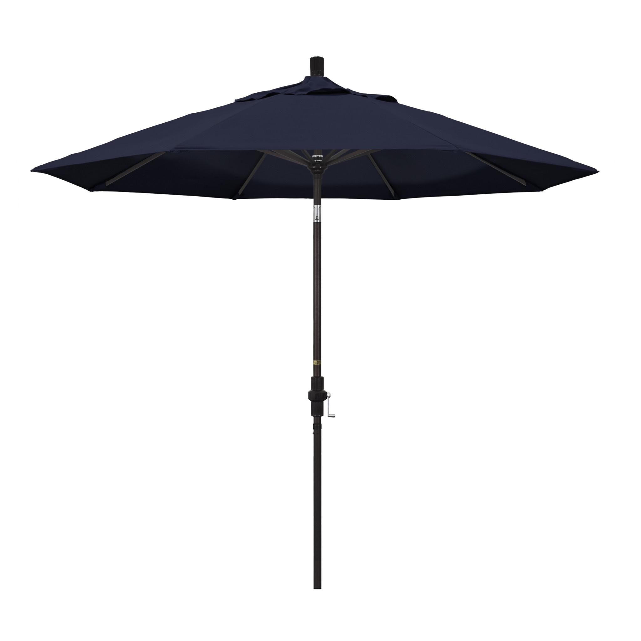 California Umbrella 9' Collar Tilt - Pacifica Navy