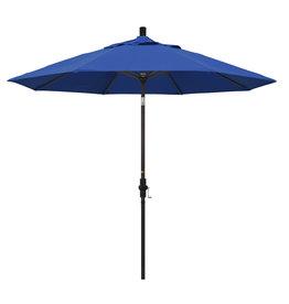 California Umbrella 9' Collar Tilt - Pacifica Pacific Blue