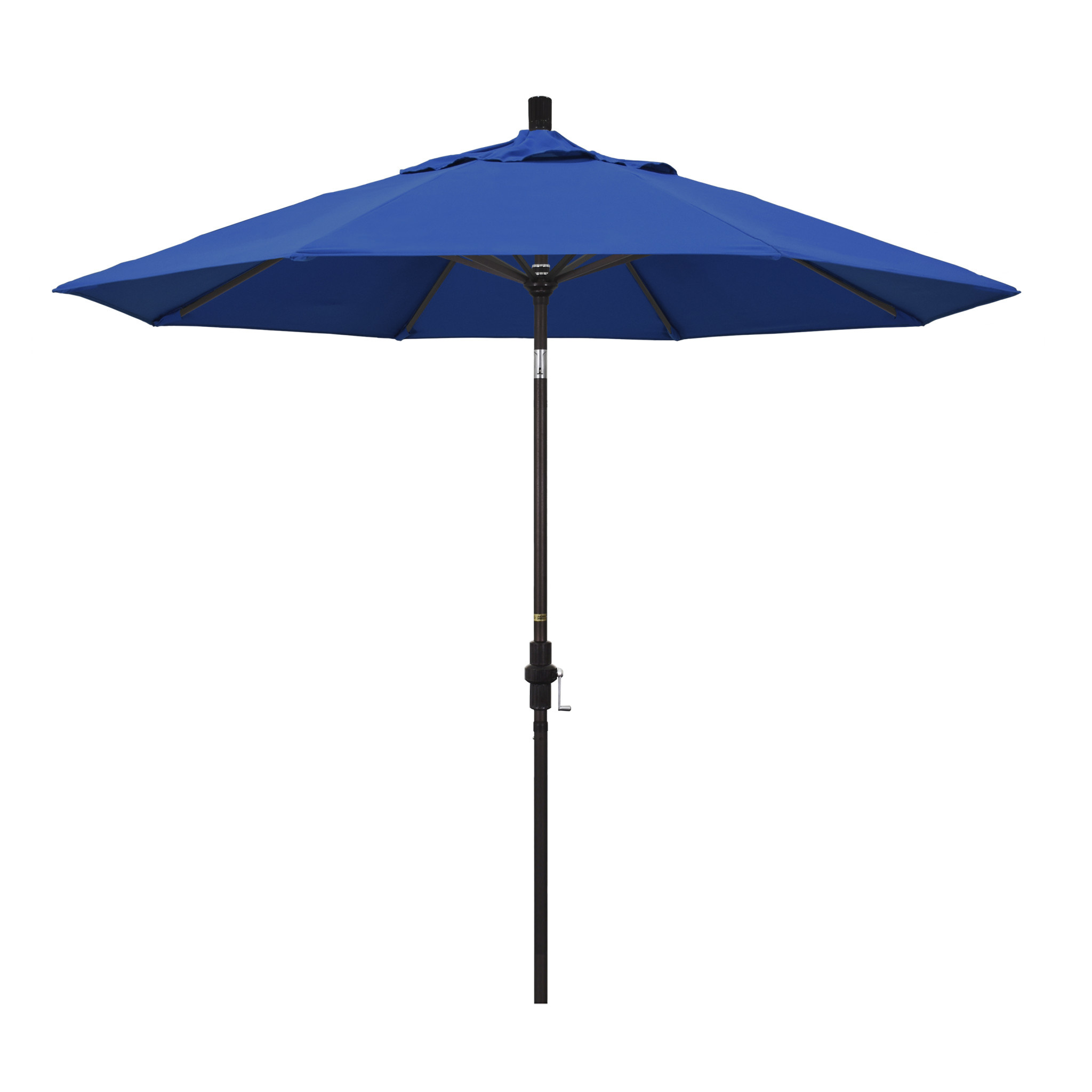 California Umbrella 9' Collar Tilt - Pacifica Pacific Blue