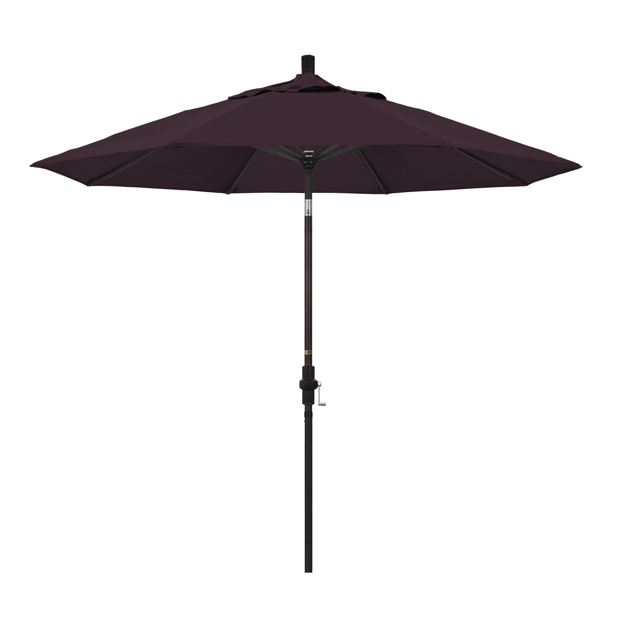 California Umbrella 9' Collar Tilt - Pacifica Purple