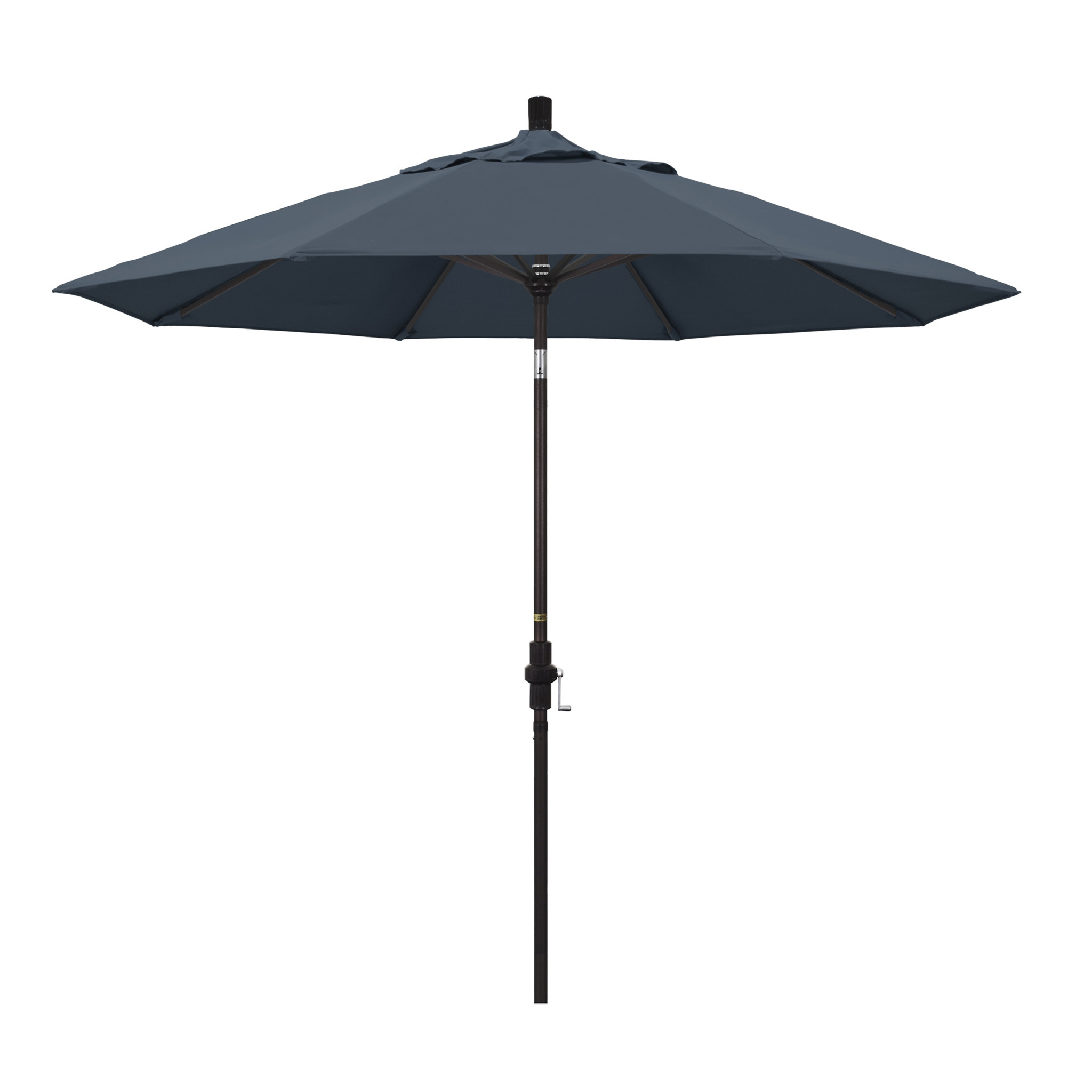 California Umbrella 9' Collar Tilt - Pacifica Sapphire Blue
