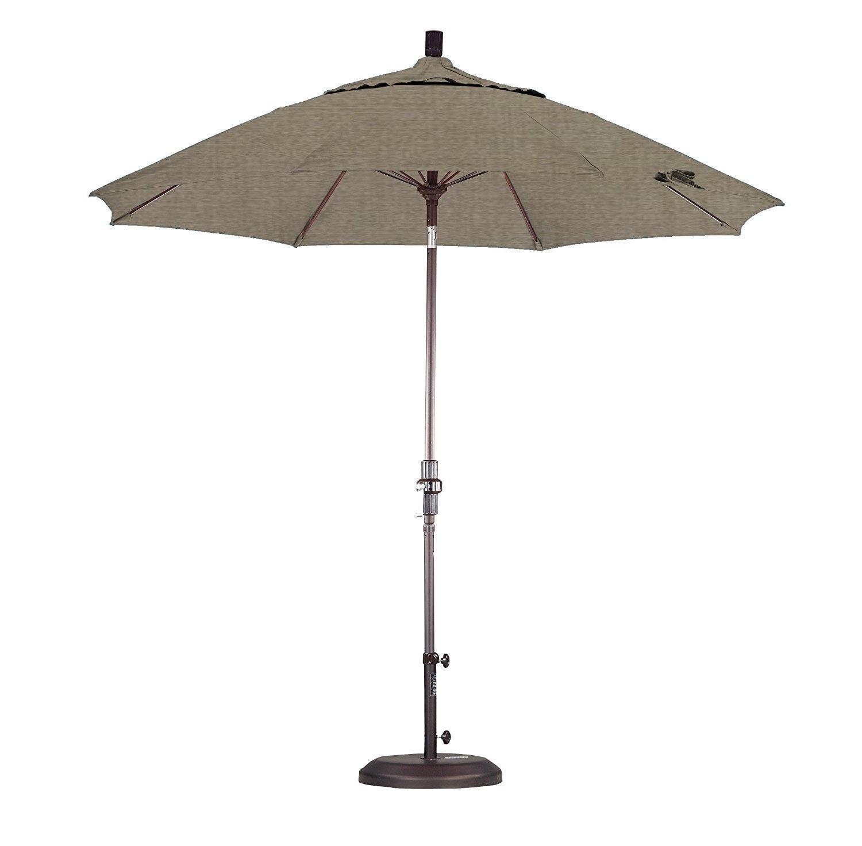 California Umbrella 9' Collar Tilt - Pacifica Taupe