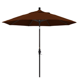 California Umbrella 9' Collar Tilt - Pacifica Terracotta