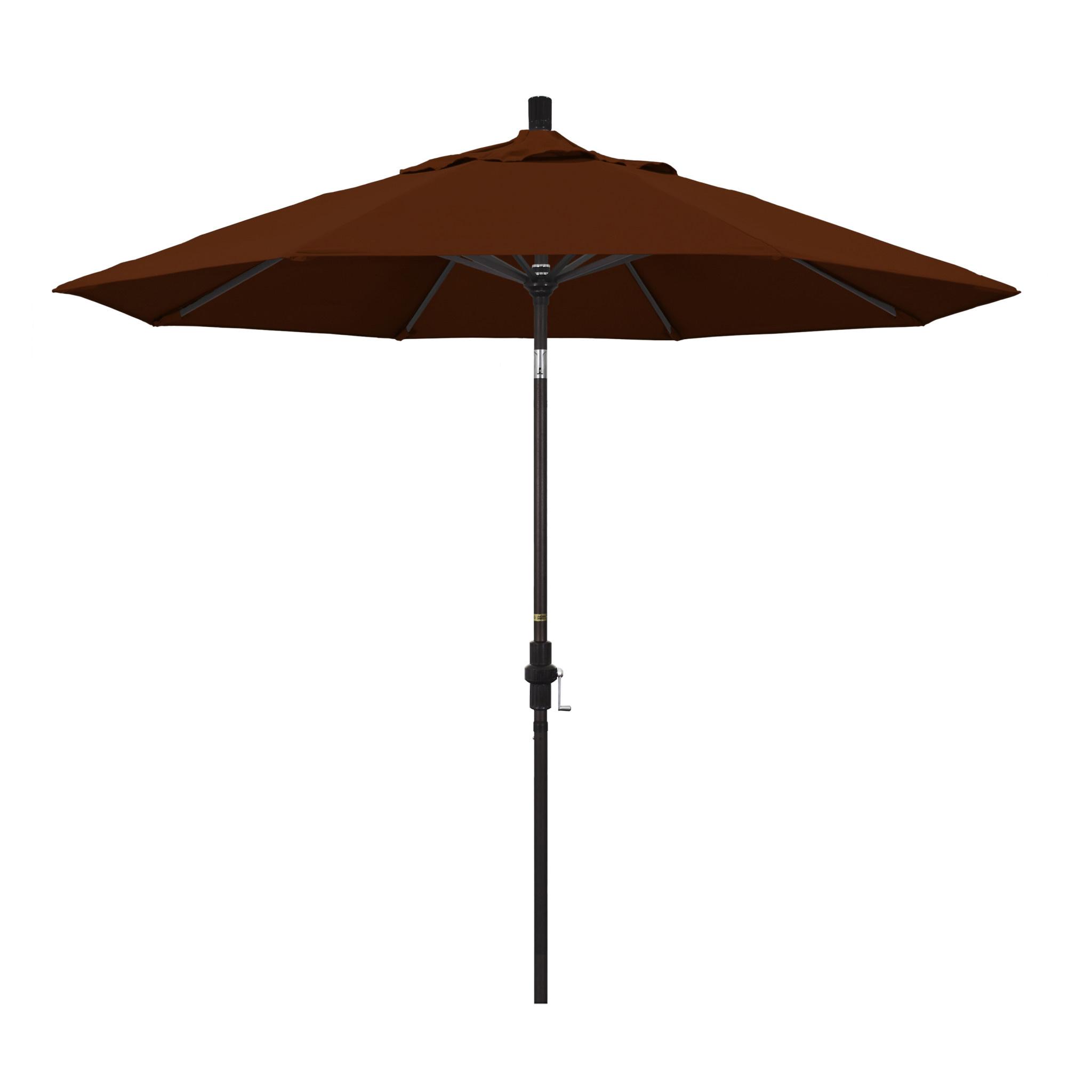 California Umbrella 9' Collar Tilt - Pacifica Terracotta