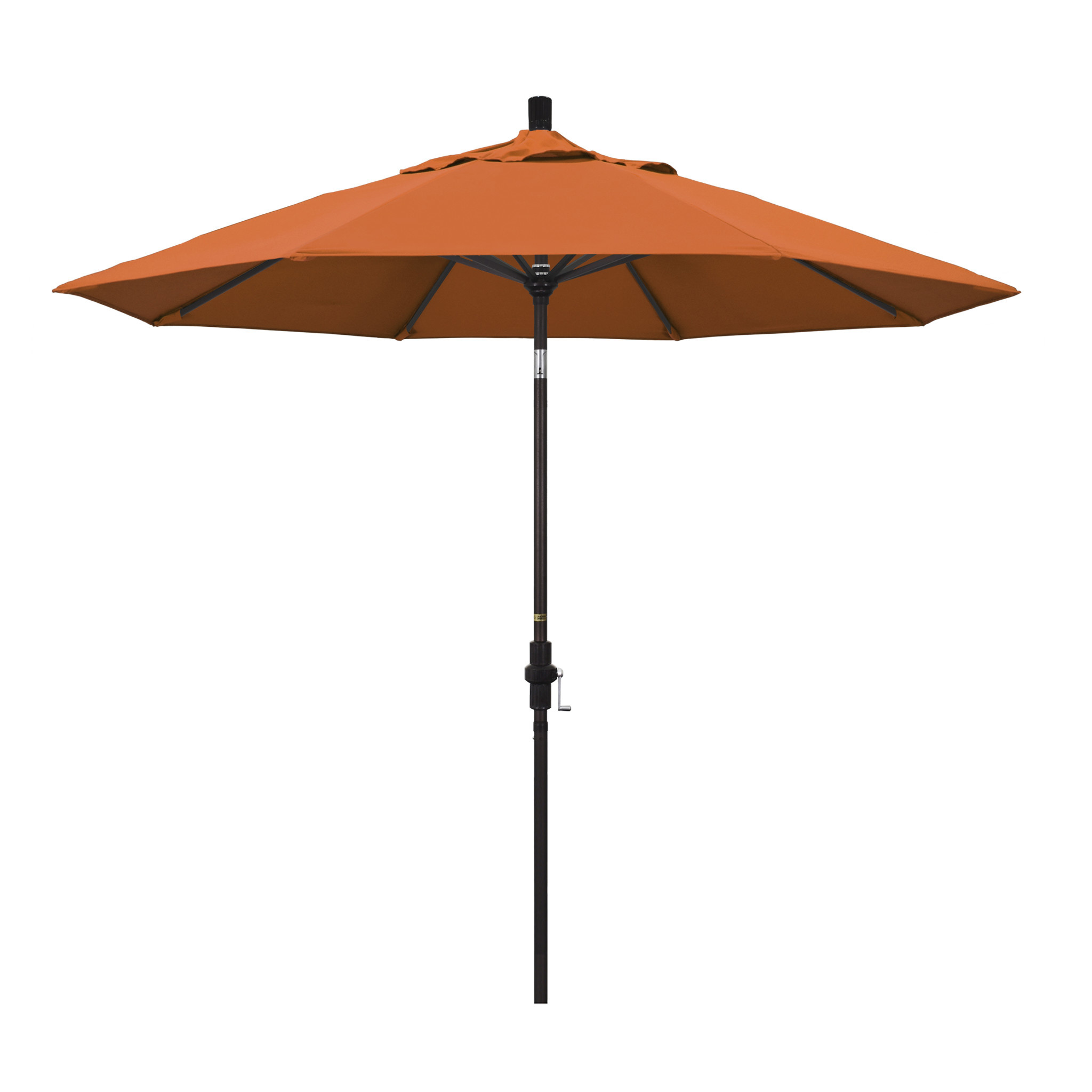 California Umbrella 9' Collar Tilt - Pacifica Tuscan