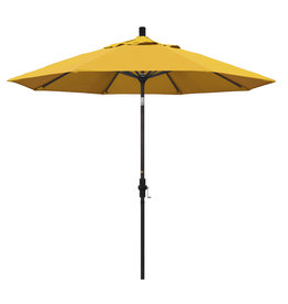 California Umbrella 9' Collar Tilt - Pacifica Yellow