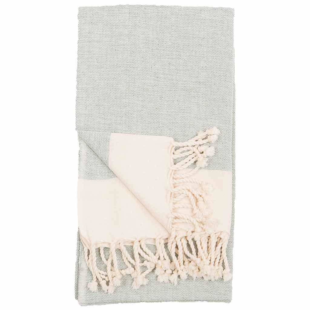 Pokoloko Kreative Ltd. Turkish Towel - Anatolia - Arctic