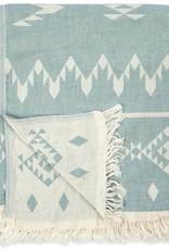 Pokoloko Kreative Ltd. Turkish Towel - Atlas - Coastline Blue