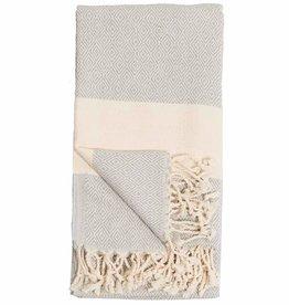 Pokoloko Kreative Ltd. Turkish Towel - Diamond - Mist