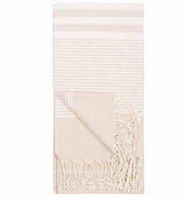 Pokoloko Kreative Ltd. Turkish Towel - Harem - Cream