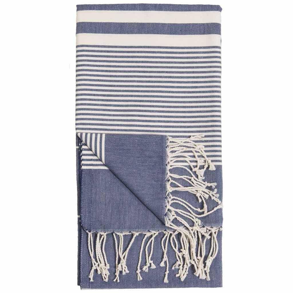 Pokoloko Kreative Ltd. Turkish Towel - Harem - Denim