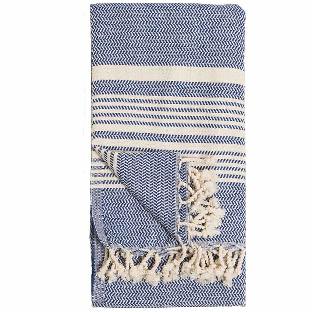 Pokoloko Kreative Ltd. Turkish Towel - Hasir - Navy