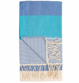 Pokoloko Kreative Ltd. Turkish Towel - Hawaii - Harbour