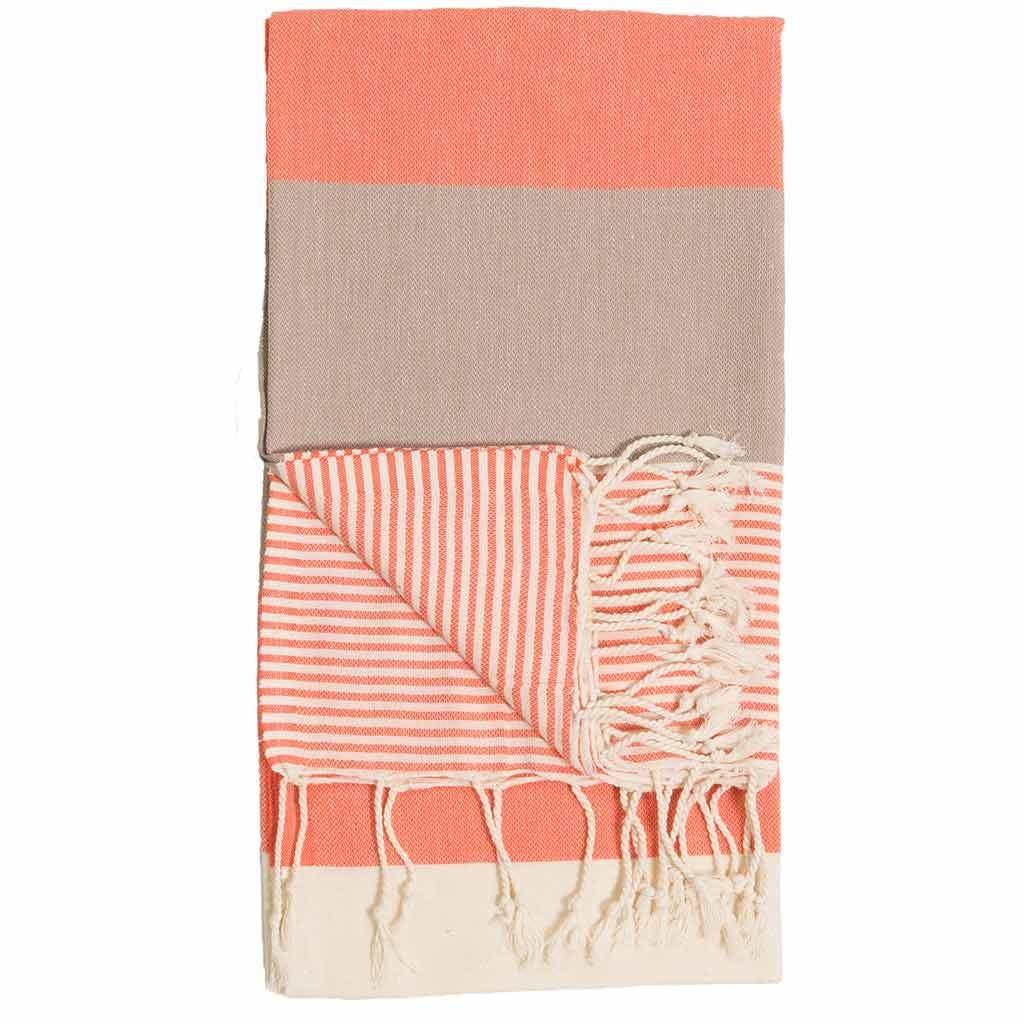 Pokoloko Kreative Ltd. Turkish Towel - Hawaii - Peach
