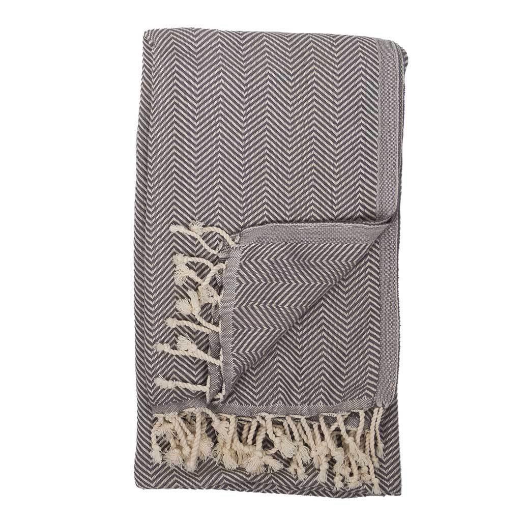 Pokoloko Kreative Ltd. Turkish Towel - Herringbone - Highway